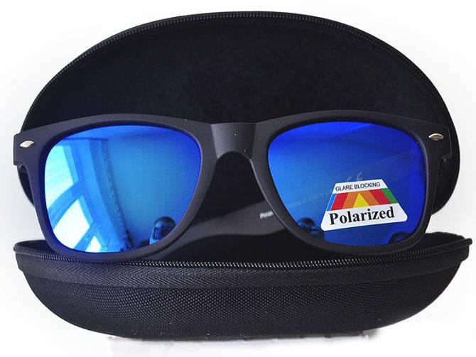 Okulary Polaryzacyjne Przeciwsłoneczne Wayfare Blue 865C2-5